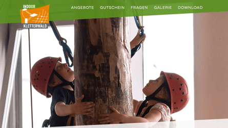 INDOOR Kletterwald